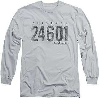Les Miserables Romantic Musical Drama Movie Prisoner Adult Long Sleeve T-Shirt