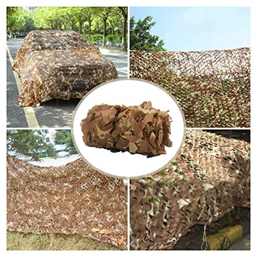 5mx8m/16 * 26ft Hunting Military Camouflage Nets Woodland Army Camo Netting For Outdoor Camping Military Hunting Cover Camping Sun ShelterTent Shade Sun Shelter (Color : -, Size : 2x10m/6x32ft)