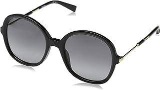نظارات شمسية من ماكس مارا للنساء، متعدد الالوان ام ام واند III (اسود)، قياس 53