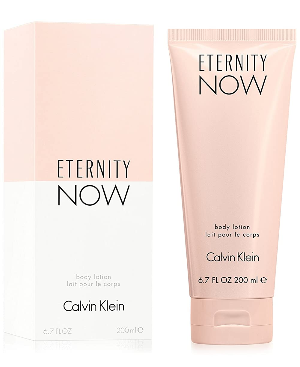 お嬢粉砕する絶壁Eternity Now (エタニティー ナウ) 6.7 oz (200ml) Body Lotion by Calvin Klein for Women