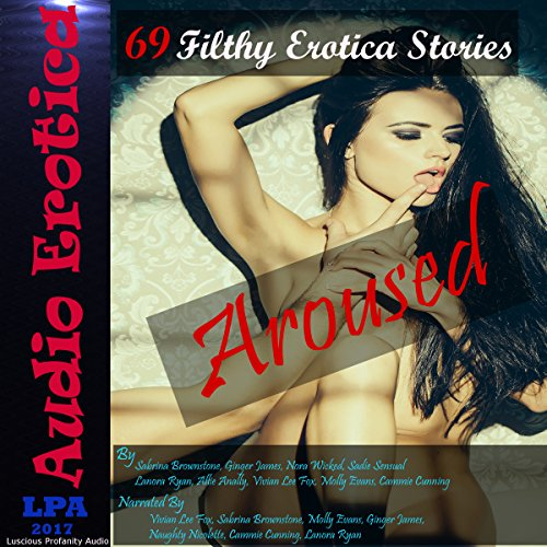 Aroused: 69 Filthy Erotica Stories audiobook cover art