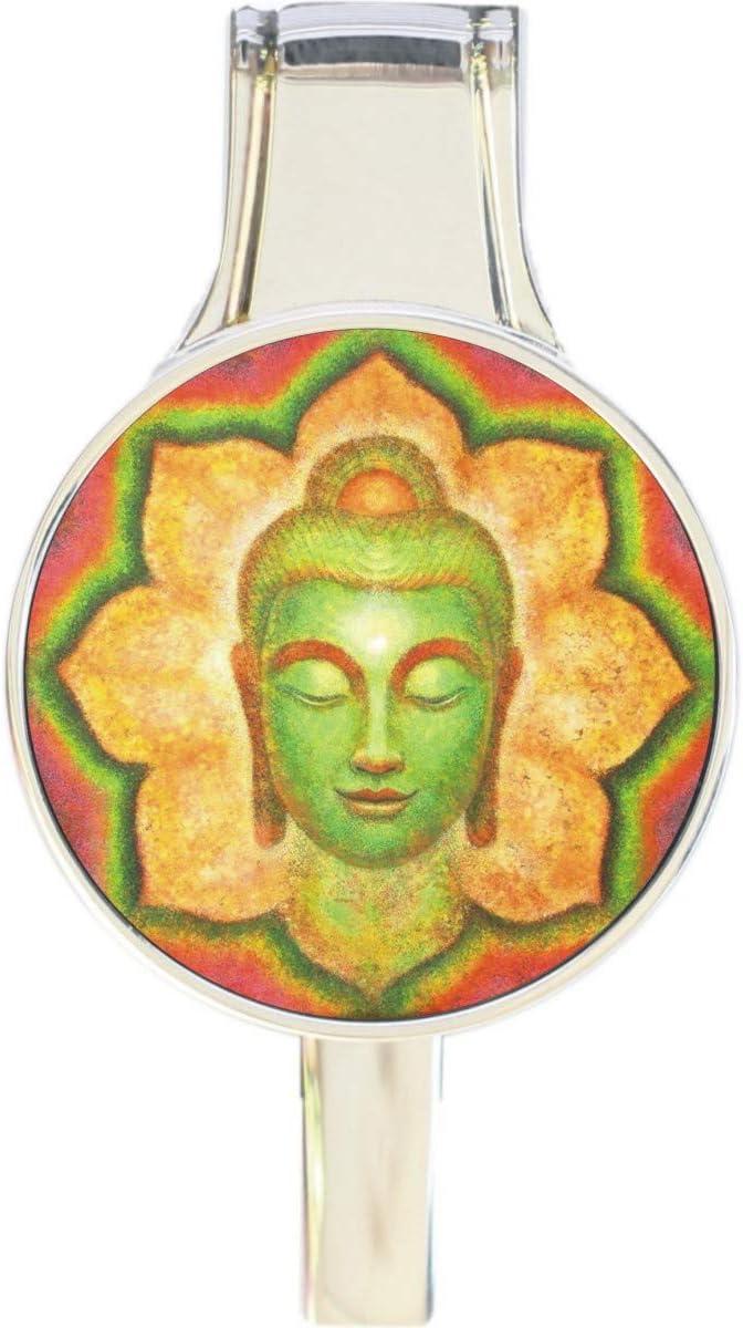 Buddha Lotus Flower Everything Purse Seattle Mall Hook Hanger Handbag Max 77% OFF Retract