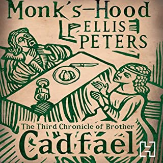 Monk's-Hood     The Third Chronicle of Brother Cadfael              By:                                                                                                                                 Ellis Peters                               Narrated by:                                                                                                                                 Stephen Thorne                      Length: 7 hrs and 47 mins     95 ratings     Overall 4.6