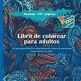 Libro de colorear para adultos Mandala 100+ páginas - Si la tranquilidad te esta matando, busca la tormenta para salvar tu vida.