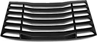 DNA Motoring ZTL-Y-0033 Rear Window Vent Louver Windshield Sun Shade Cover Assembly