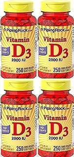 4 VITAMINA D3 2000 IU 250 PERLAS. Vitamin D3