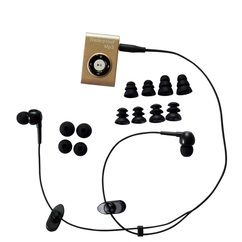 MIUSUK Waterproof Swimming Headphones Companion