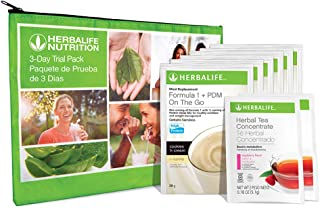 3-Day Nutrition Program Trial Pack w/Herbal Tea Concentrate Single