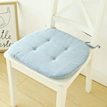 Chair Cover, Soft Cotton Chair Cushion,Natural for Home Office Dinning Chair Seat Chair pad Indoor Outdoor Wicker Cushion ...
