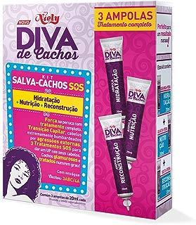 Kit Salva-Cachos SOS Diva de Cachos, 60 ml, Niely