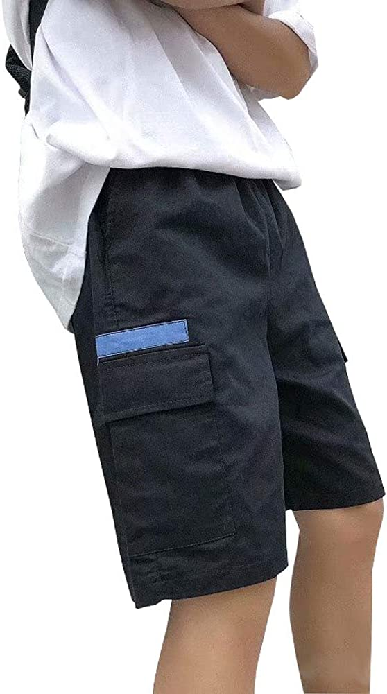 Astellarie Mens Casual Street Cargo Shorts Lightweight Relaxed Fit Shorts with Elastic Waist and Pockets