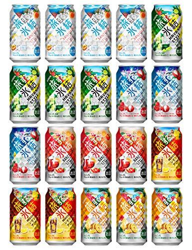 【Amazon.co.jp限定】キリン 旅する氷結 20本入り飲み比べセット [ チューハイ 350ml×20本 ]