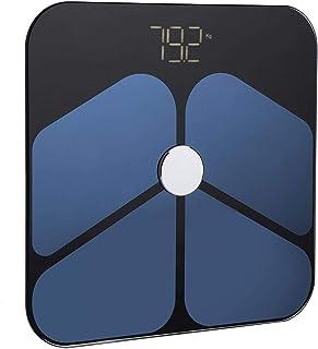 Emoshayoga Báscula de Peso Corporal Gran Capacidad de Carga Báscula de Base antivuelco Báscula Digital Balance de Peso electrónico para el Peso del Cuerpo Humano