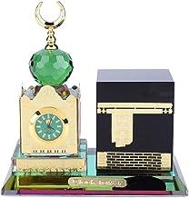 Moskee Digitale Klok Moslim, Moslim Levert Klok Tower Kaaba Model Islamitische Architectuur Handwerk Desktop Decor Led Lez...