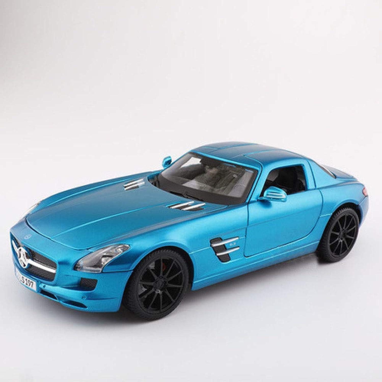 bienvenido a comprar GFLD 01 18 aleación Modelo de Coche Deportivo Modelo de de de Coche de la simulación de Mercedes-Benz SLS Modelo de Coche de simulación ca  Las ventas en línea ahorran un 70%.