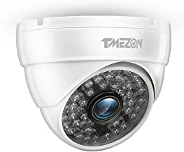 TMEZON AHD Camera 1080P 4IN1 AHD/CVI/TVI/960H Security Camera 2.0MP Night Vision Outdoor 48 IR LEDs Day Night Vision with ...