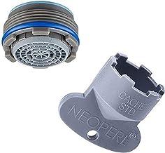 Neoperl Cache Cascade SLC intrekbare filter voor kraan, met sleutel 24 x 1 en filter