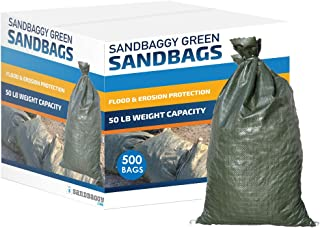 Sandbaggy - Empty Poly Sandbags W/UV Protection - Size: 14