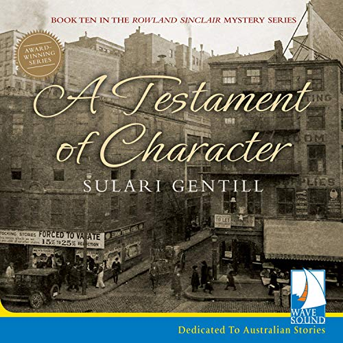 A Testament of Character cover art