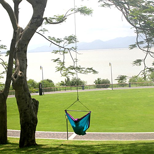 chillout pod - one of the best portable hanging chairs for camping and travel