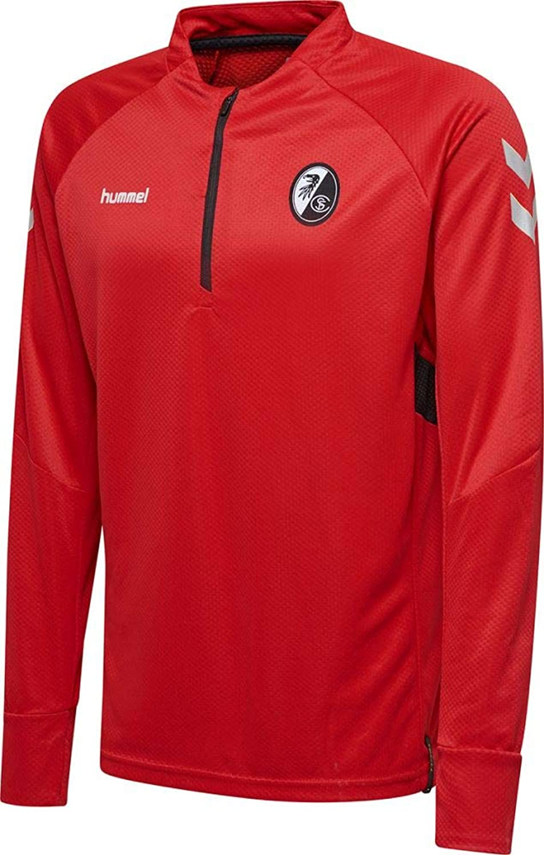 Hummel Fußball Kinder SC Freiburg SCF Tech Tech Tech Move Half Zip Sweatshirt Pullover rot B07HM54GZQ  Angemessener Preis 6291ef