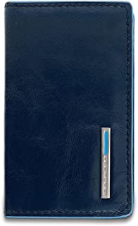 Piquadro PP1263B2 Porta Biglietti Da Visita, Collezione Blu Square, Blu