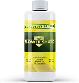 Humboldts Secret Flower Shield – Powerful Insecticide – Pesticide – Miticide – Fungicide – Bug Spray – Spider Spray – Plant and Flower Protection – Healthy Treatment for Pests and Fungus – 2 Ounces