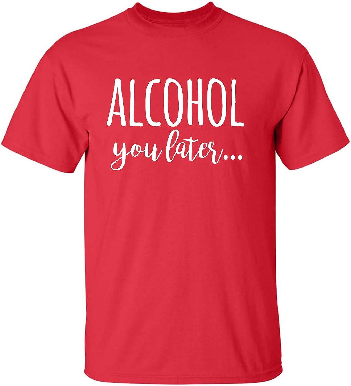 zerogravitee Alcohol You Later Adult Short Sleeve T-Shirt