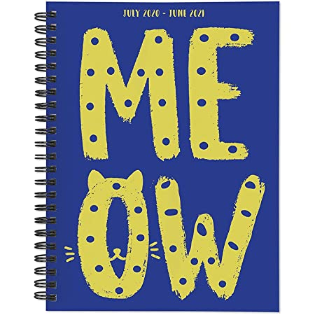 ,5.2X7.3,116 Pages,1-Pack Cat-Painter Non Bleed Kairui Hardcover Spiral Weekly Plan//Journal,100gms Smooth Paper