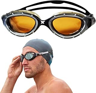 Zoggs Predator Flex 2.0 Polarized Swimming Goggles Swimming Goggles No Leaking Anti Fog UV Protection Triathlon