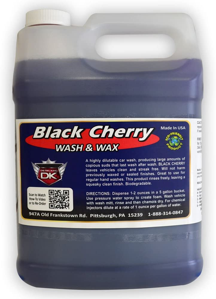 Detail King Black Cherry Popular products Car lowest price Wax Shamp Soap with Wash