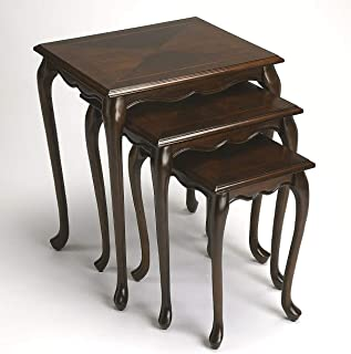 Nesting Tables - Newburgh Nesting Tables - Set of Three - Cherry Finish