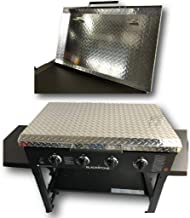 """Updated and Improved Made in USA 36 Inch Blackstone Griddle Cover Lid, Diamond Plate Aluminum Lid Storage Cover for 36"""" Bl..."""