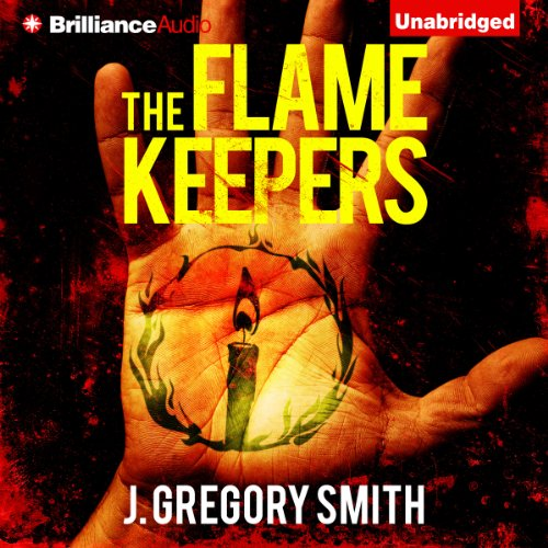 The Flamekeepers audiobook cover art