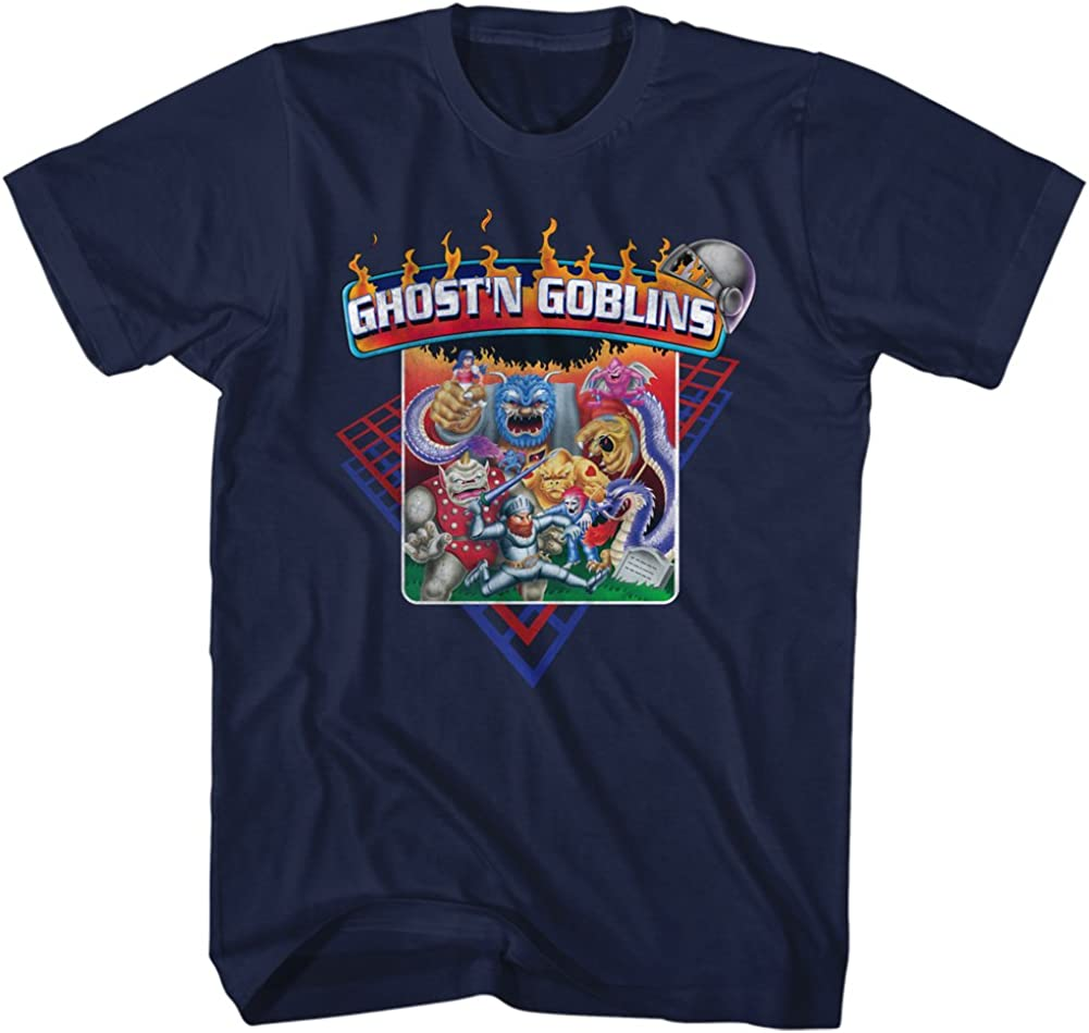 Ghosts N Goblins Video Arcade Game Fire Monsters High quality T Adult Zombies Max 67% OFF