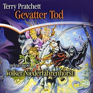 Gevatter Tod     Ein Scheibenwelt-Roman              Autor:                                                                                                                                 Terry Pratchett                               Sprecher:                                                                                                                                 Volker Niederfahrenhorst                      Spieldauer: 10 Std. und 21 Min.     1.245 Bewertungen     Gesamt 4,7