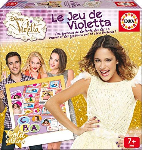 Educa - 16249 - Jeu De Société De Violetta - Saison 2