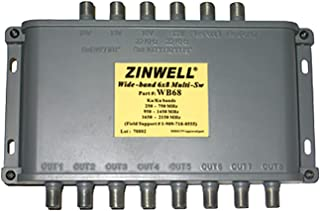 Generic WB68 Zinwell 6x8 متعدد المفاتيح مصمم لـ DirecCTV MPEG-4 ضغط HD