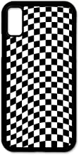Cell Phone Cover - Slim Fit - Compatible with Apple iPhone X and iPhone Xs - Checkered Flag