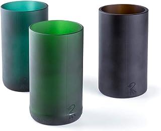 comprar comparacion Roca Recicla - Juego de 3 Vasos de Vidrio Reciclado de El Celler de Can Roca