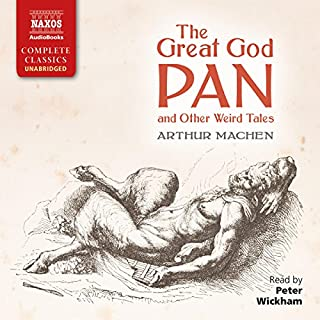 The Great God Pan and Other Weird Tales audiobook cover art