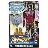 Hasbro Avengers E0611EW0 Titan Hero Power FX Star-Lord mit Pack, Actionfigur