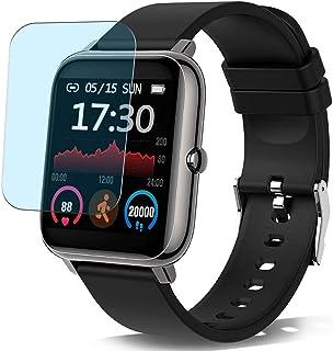 Vaxson 3 st. anti-blåljusskyddsfilm, kompatibel med Donerton X11 1,4 tum Smartwatch Smart Watch, skärmskydd Anti Blue Ligh...