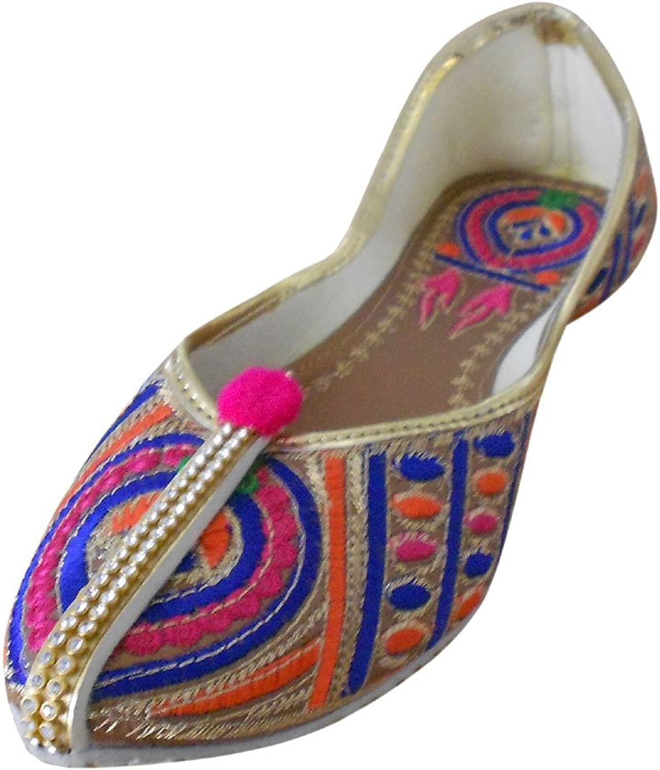 Kalra Creations Jutti Women's Indian Stylish Traditional Ethnic shoes