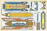 RECORTABLES SERIE AYER Y HOY. VIRGILI LUIS ESTEBAN. Barco Ii: Crucero...