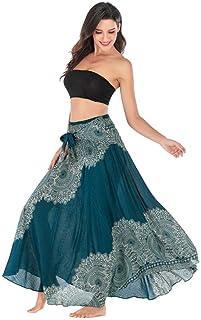 comprar comparacion Faldas Largas y Elegantes Faldas Largas Mujer Verano Faldas Mujer Invierno Primavera Vestidos Mujer Hippie Bohemia Gitana ...