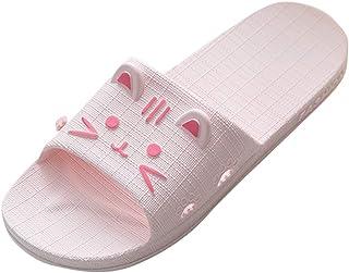 WINJIN Chaussons Homme Femme Chaussures Maison Ete Slippers Plateforme Couple Sandales Plage Unisexe Pantouffles de Bain M...