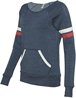 Ladies' Maniac Sport Eco-Fleece Sweatshirt - Eco True Navy - X-Large