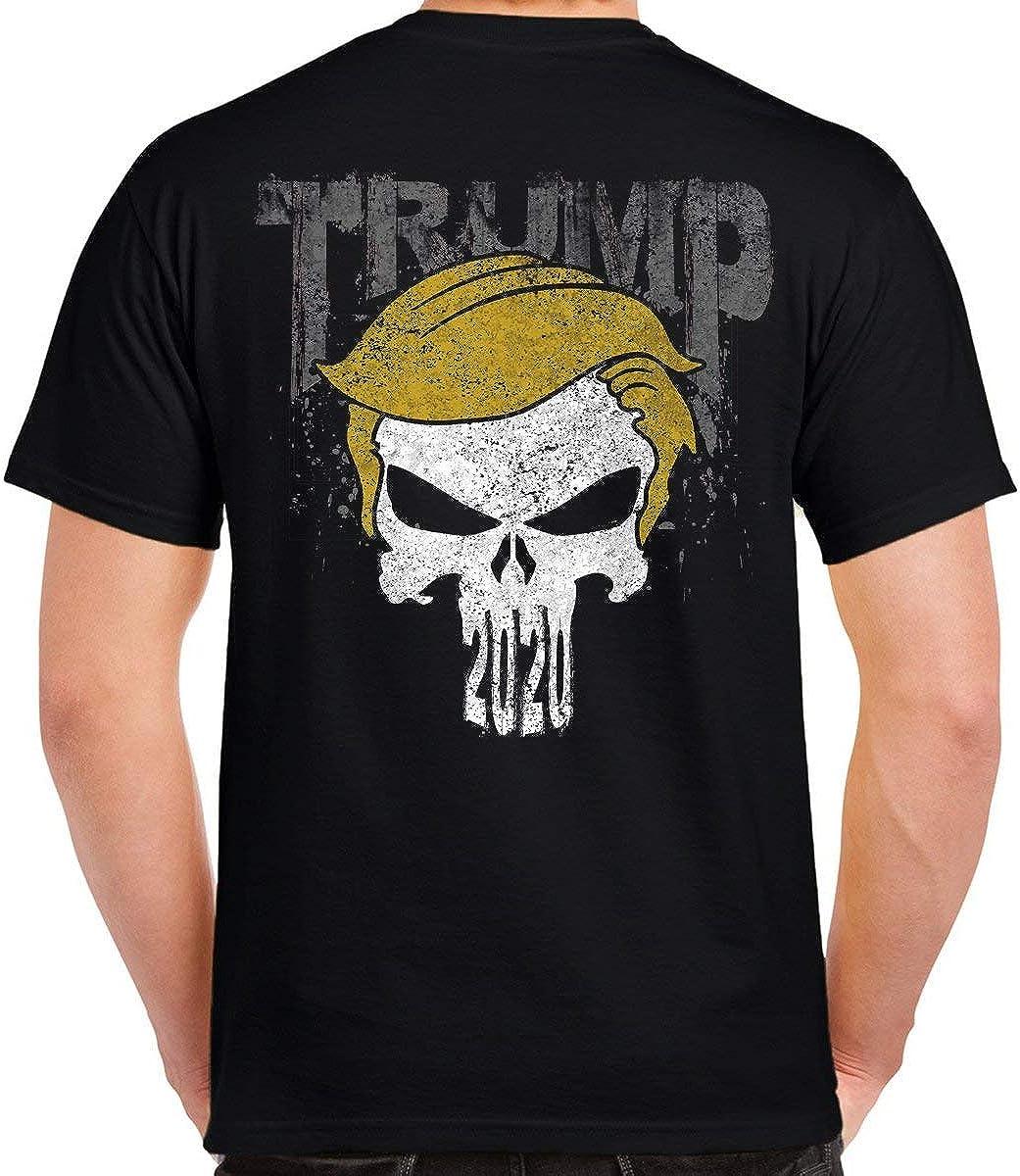 Biker Life Clothing 2020 Trump Punisher T-Shirt