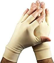 Light Skin Tone Tattoo Cover Up Fingerless Gloves - Hide Hand Tattoos at Work (sold as a pair)